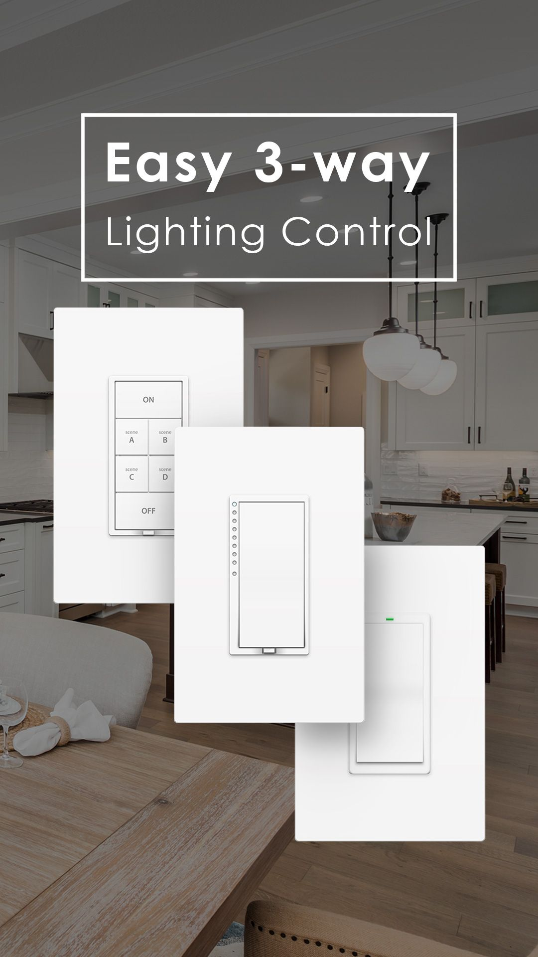Easy 3 Way And 4 Lighting Control For The Home Light Switch Repair With Insteon Multi Is Replace Existing Switches An Or