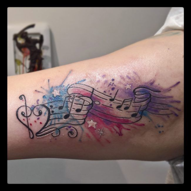 Photo of 75+ Marvelous Music Note tattoo ideas – for those who are in love with music