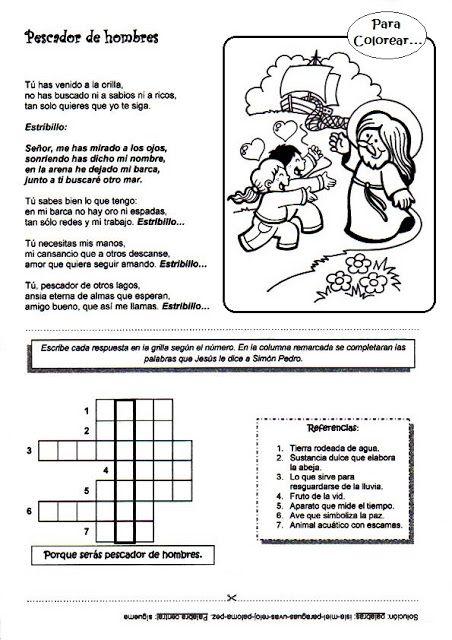 El Rincón de las Melli: abril 2013 | ejercicios de religion ...