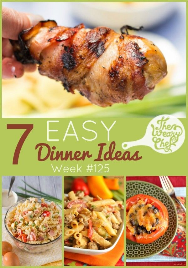 Quick Easy Meals Supper