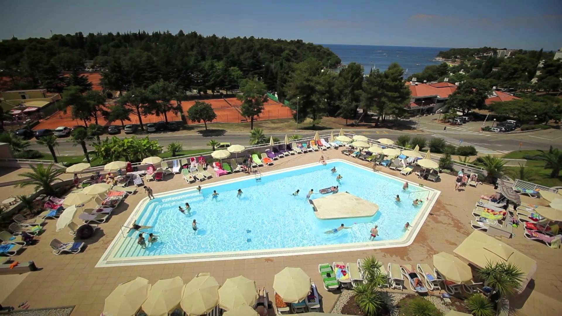 Hotel Laguna Albatros Video Summer Vacation Fun Sea Hotel Family Porec Istria Croatia Porec Best Vacations Vacation
