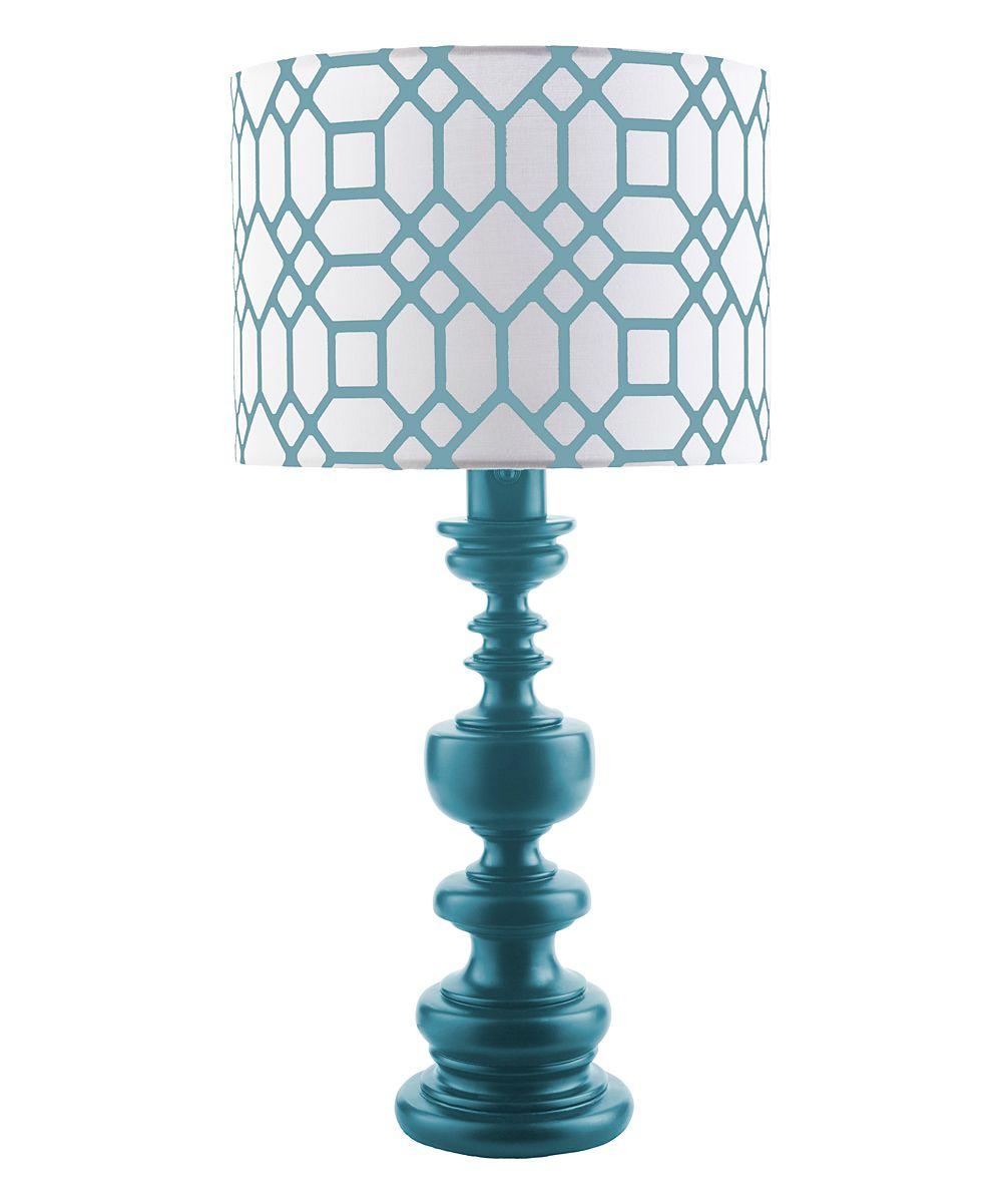 Blue Wilson 28.5 x 14 x 14 Table Lamp