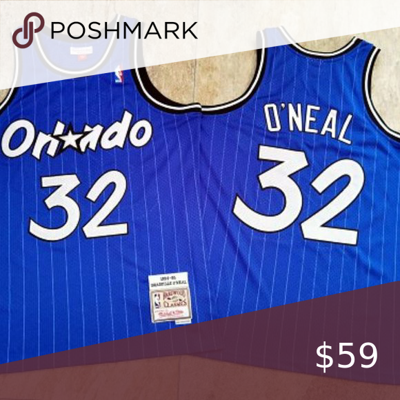 Orlando Magic 32 Oneal Jersey Nba 1 The Jersey Is Newly Sewn 2 Money Back Guarantee 3 All Items Fit True To Official Size 4 Jersey Orlando Magic Posh Shirts