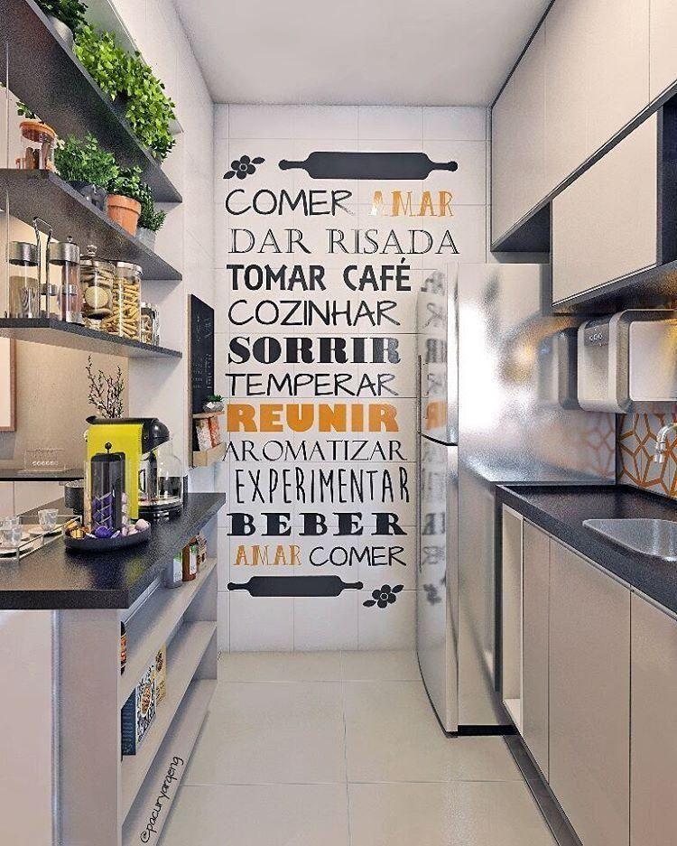 Pin By Nina Pereira On Cozinhas: Cozinhas Pequenas: Fotos E Truques Indispensáveis Na Decor