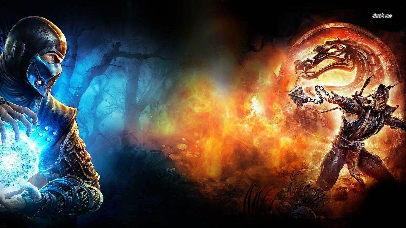 Обои Mortal kombat, персонажи, komplete edition. Игры foto 6