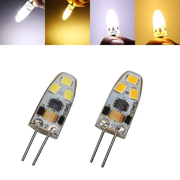 G4 Dimmable 1w Led Bulb 90lm 6 Smd 2835 Pure White Warm White Corn Light Lamp Spotlight Ac Dc 12v Led Bulb Lamp Light Bulb