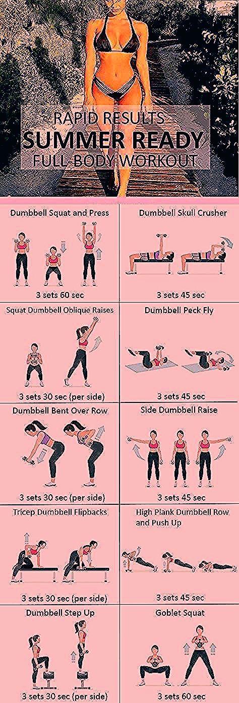 #Fitness #Workout für Frauen - sommerfertiges Körpertraining, #Fitness #von ...   - fitness exercise...
