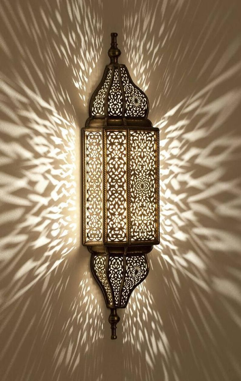 Moroccan Lamp Moroccan Sconce Wall Sconce Traditionel Etsy Indoor Wall Sconces Sconces Indoor Moroccan Lamp