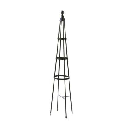 Achla Designs Obelisk Ii 84 In Steel Trellis Obl 02 The Home