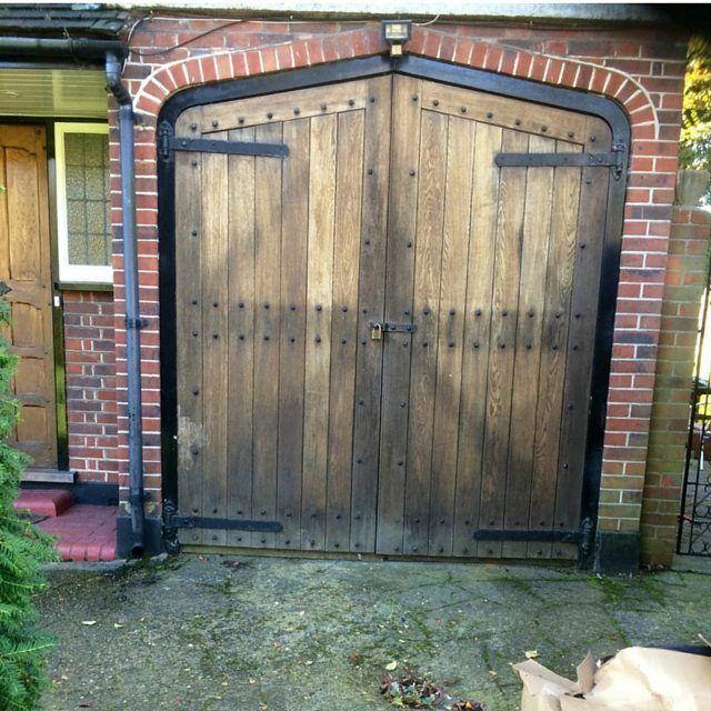 Door Of The Week Is These Lovely Old Wooden Garage Doors