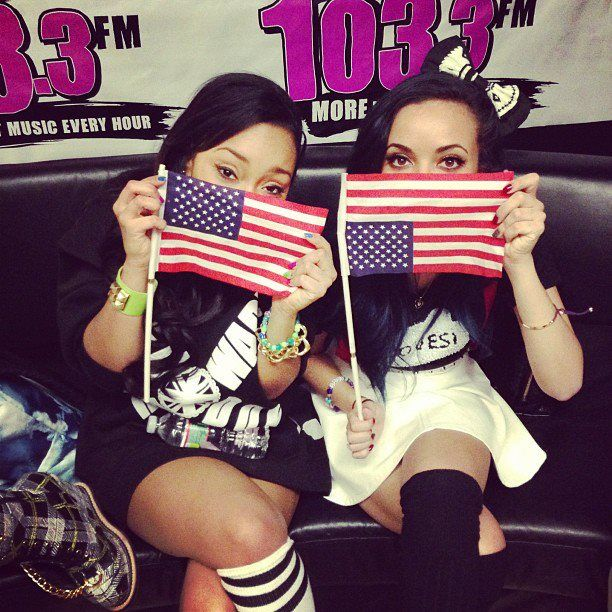 uhhh jade, the flag's upside down.. lol
