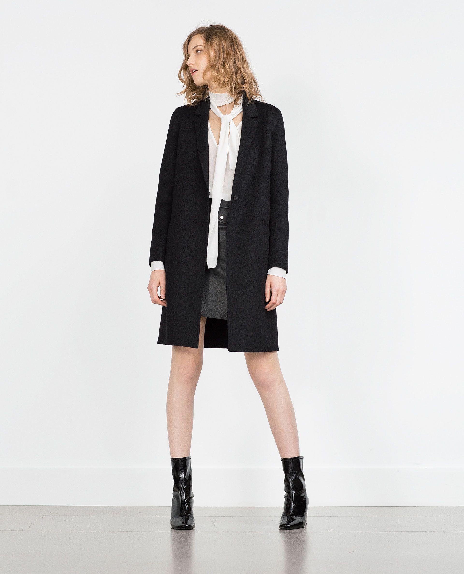 Hand Mujer Abrigo Ver Zara Made España Todo Abrigos 1XwdqX
