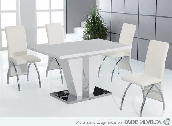 38++ Cheap white gloss dining table and chairs Ideas
