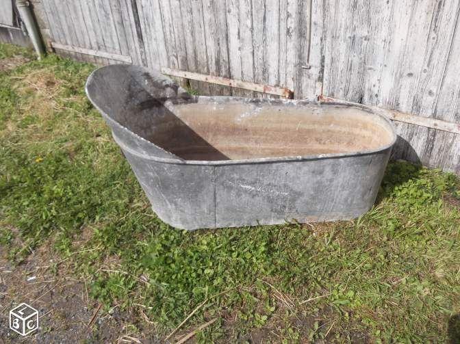 ancienne baignoire en zinc baignoire