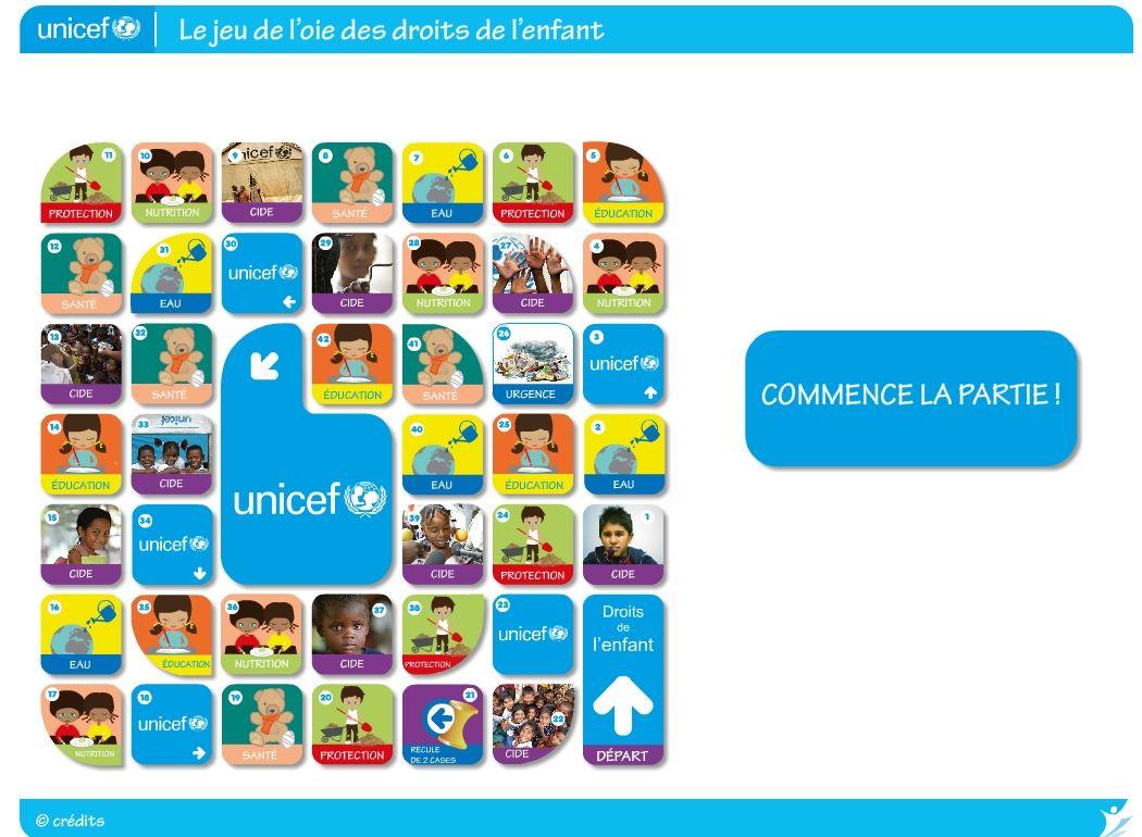 Fabulous Un jeu de l'oie pour découvrir les droits des enfants. | TUIC  NO03