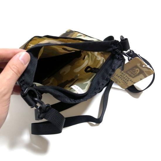 グラナイトギア タクティカルサッチェル GRANITE GEAR TACTICAL SATCHEL サコッシュ | UTILITY Outdoor Select Shop