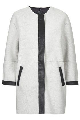 Faux Shearling Ovoid Jacket - Jackets & Coats - Clothing | More ...