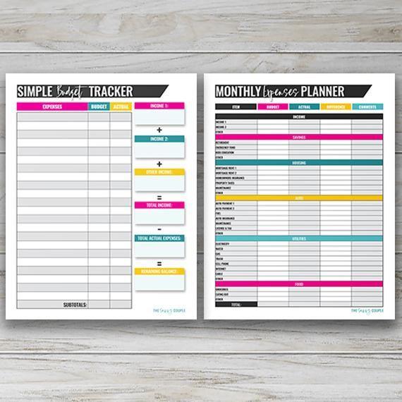 The Budgeting Binder {20+ Printable & Digital Pages