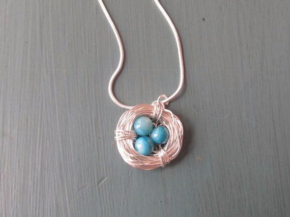 Sterling silver Bird's Nest Necklace you by shucksandshadoodles, $25.00..These are awesome....everyone should order one..my mom LOVED hers!!