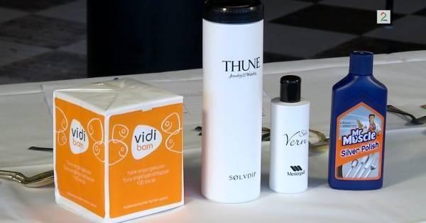 TV 2 Hjelper deg har testet proffe produkter fra gullsmeden og babyservietter fra apoteket.