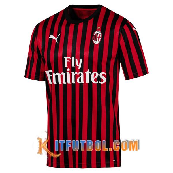 Camisetas Futbol Milan Ac Primera 19 20 Camisetas Camisetas De Futbol Futbol