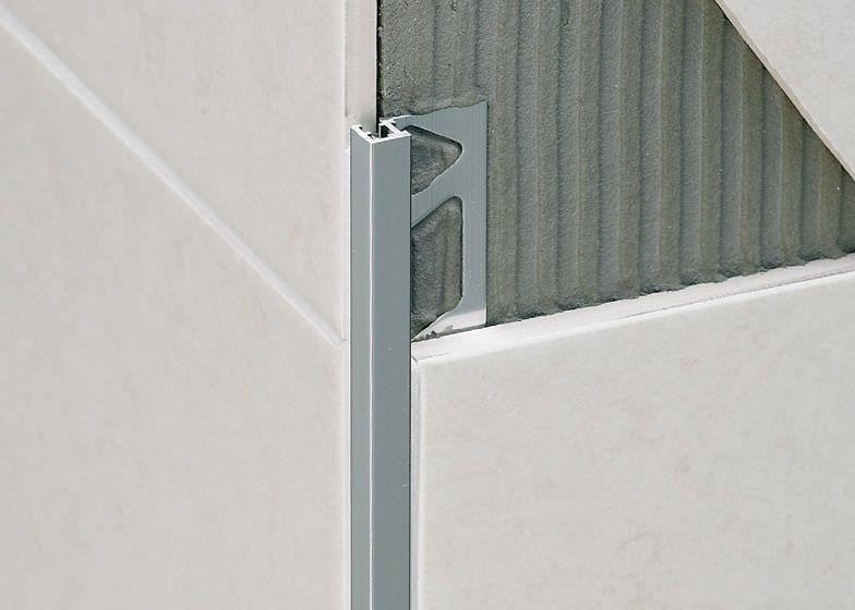 Aluminum Edge Trim For Tiles Squarejolly Sj Profilitec Tile Edge Tile Trim Tiles