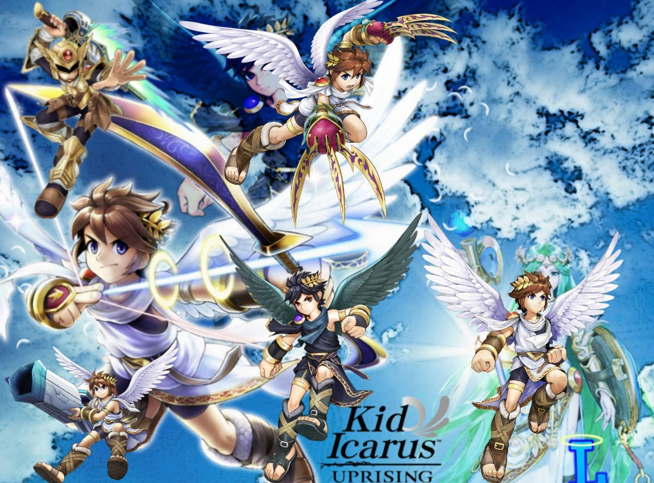 Pit Kid Icarus Wallpaper Viewing Gallery Kid Icarus