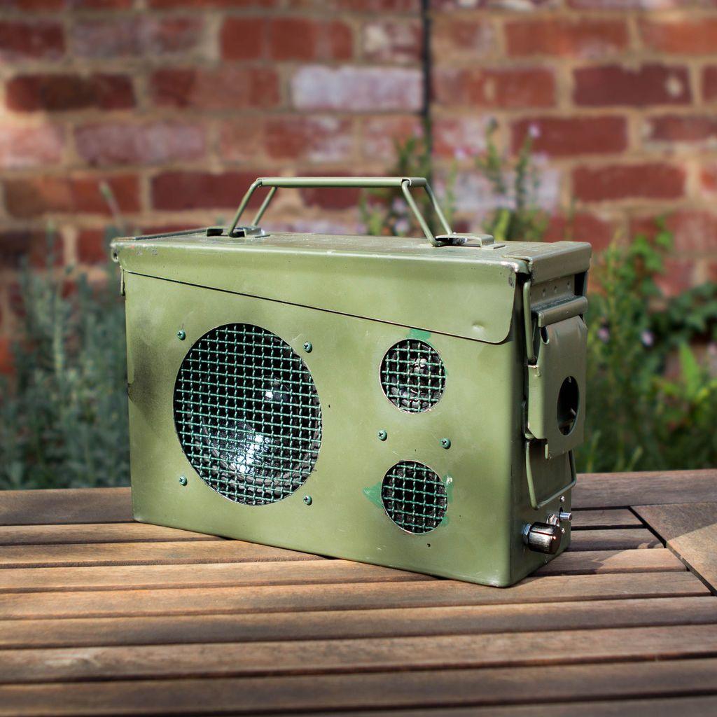 Ammo Box Speakers (With images) Ammo box, Speaker, Diy