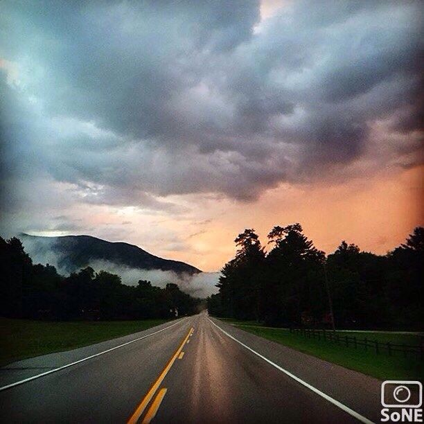 Vermont  Pic of the day 08.13.15  Photographer @farm_graze  Congratulations!   Misty evening sunsets  #scenesofVT #eveningcommute #mountainlife #howisummer  #insta_america #ipulledoverforthis #thisisvt #travelvt #vermontlife #vermont  #travelvermont  #getoutdoors #vermonting #rsa #bikevt #bpmag  #ilivewhereyouvacation #nek #igersvermont #vtphoto #visitvermont  #greenmountainstate  #vermontshots