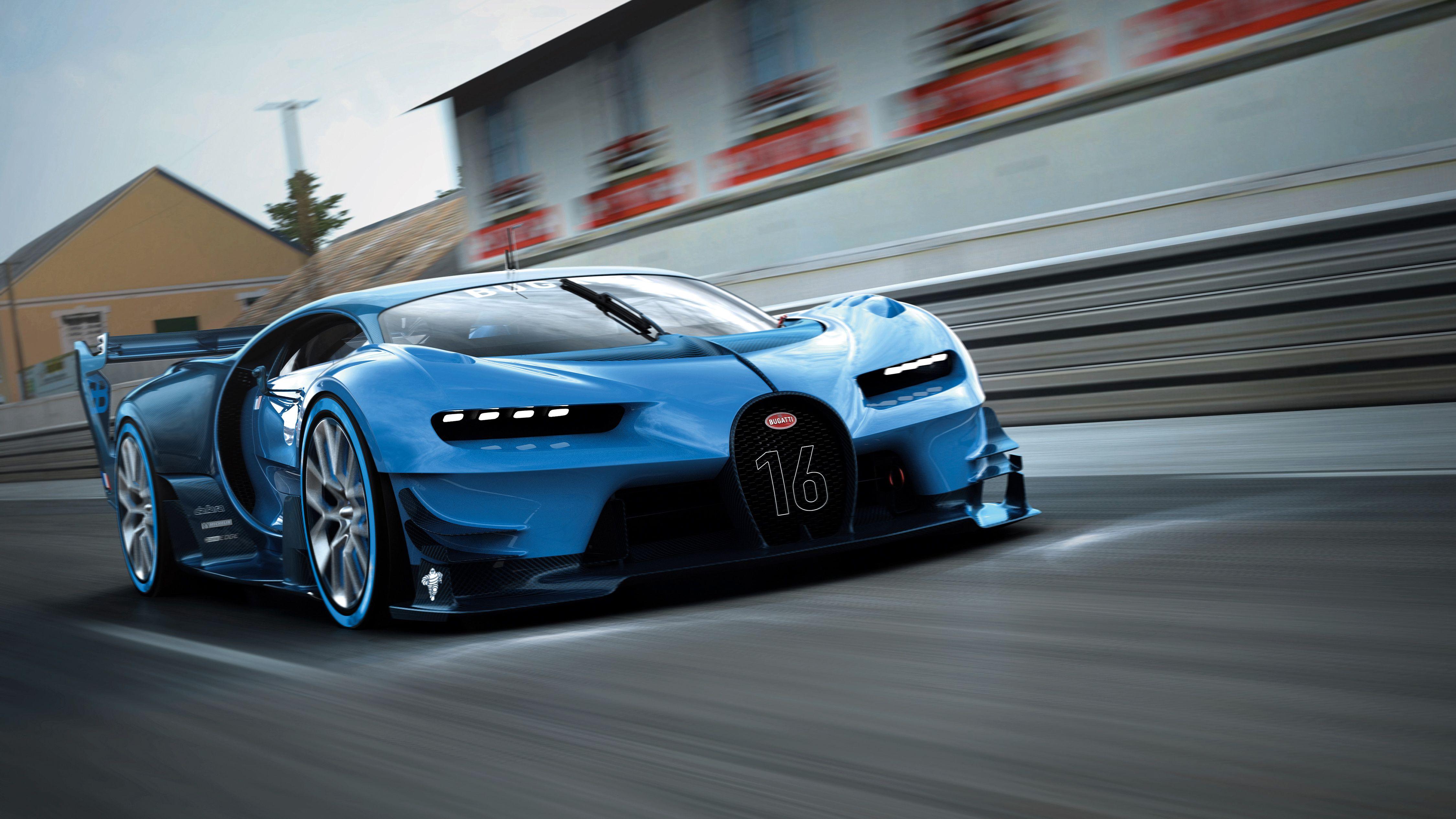 Bugatti Vision Gran Turismo 2017 Суперкары