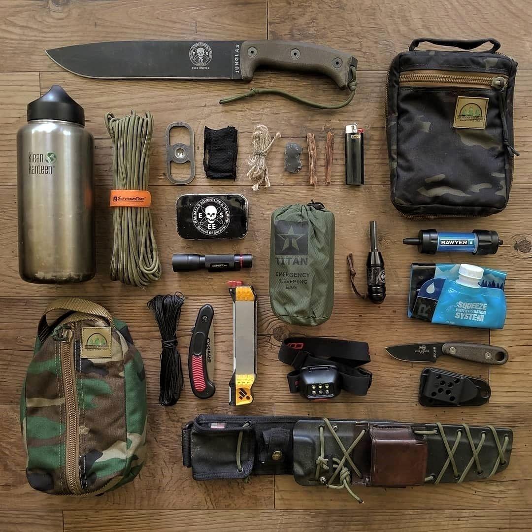 Bushcraft Survival Equipment Important Tools For