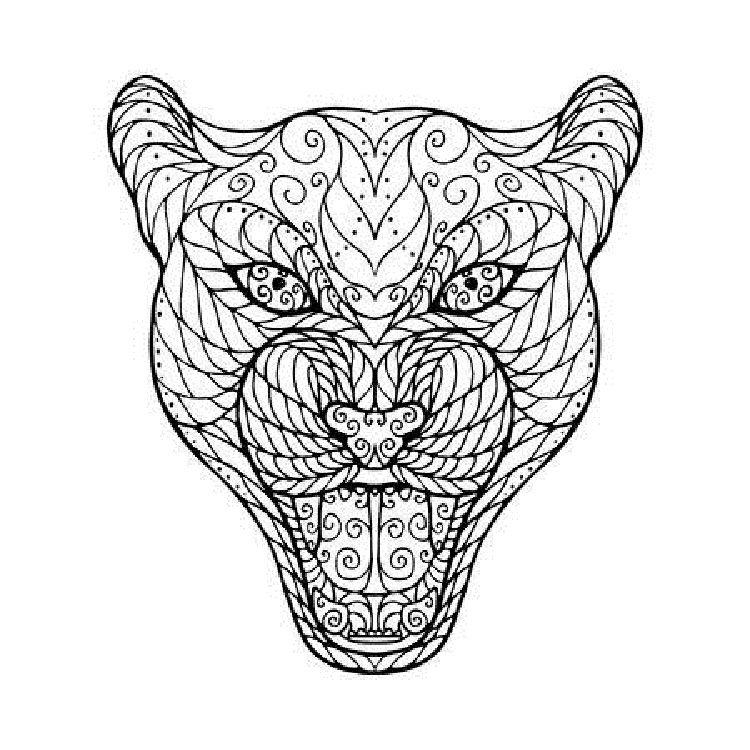 Jaguar Mandala Coloring Pages Mandala Coloring Pages Mandala Coloring How To Draw Hands