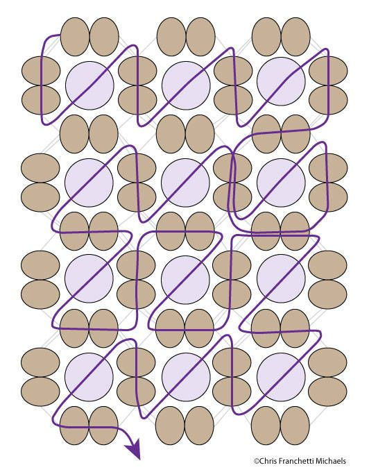 Embellished Right-Angle Weave Tutorial