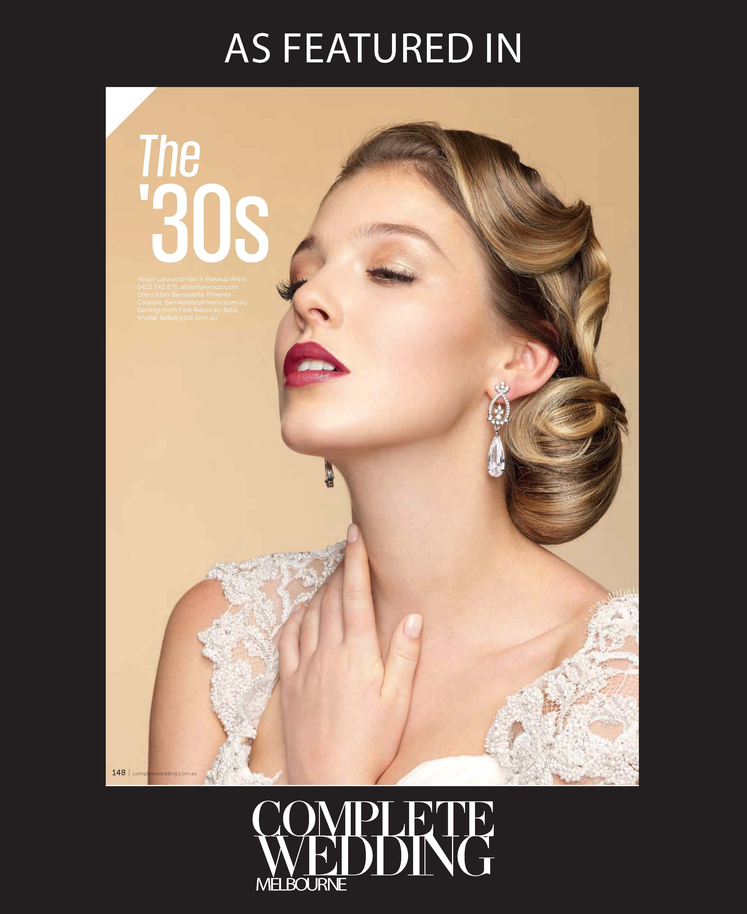 The '30s by #AlisonLarwood #vintage #silverscreen #glamour #dramatic