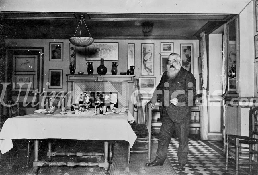 Oscar-Claude Monet, nació en París, el 14 de noviembre de 1840, fue un pintor francés, uno de los creadores de la pintura impresionista. El término impresionismo deriva del título de su obra Impresión, sol naciente (1872). Foto: EFE/GÚN