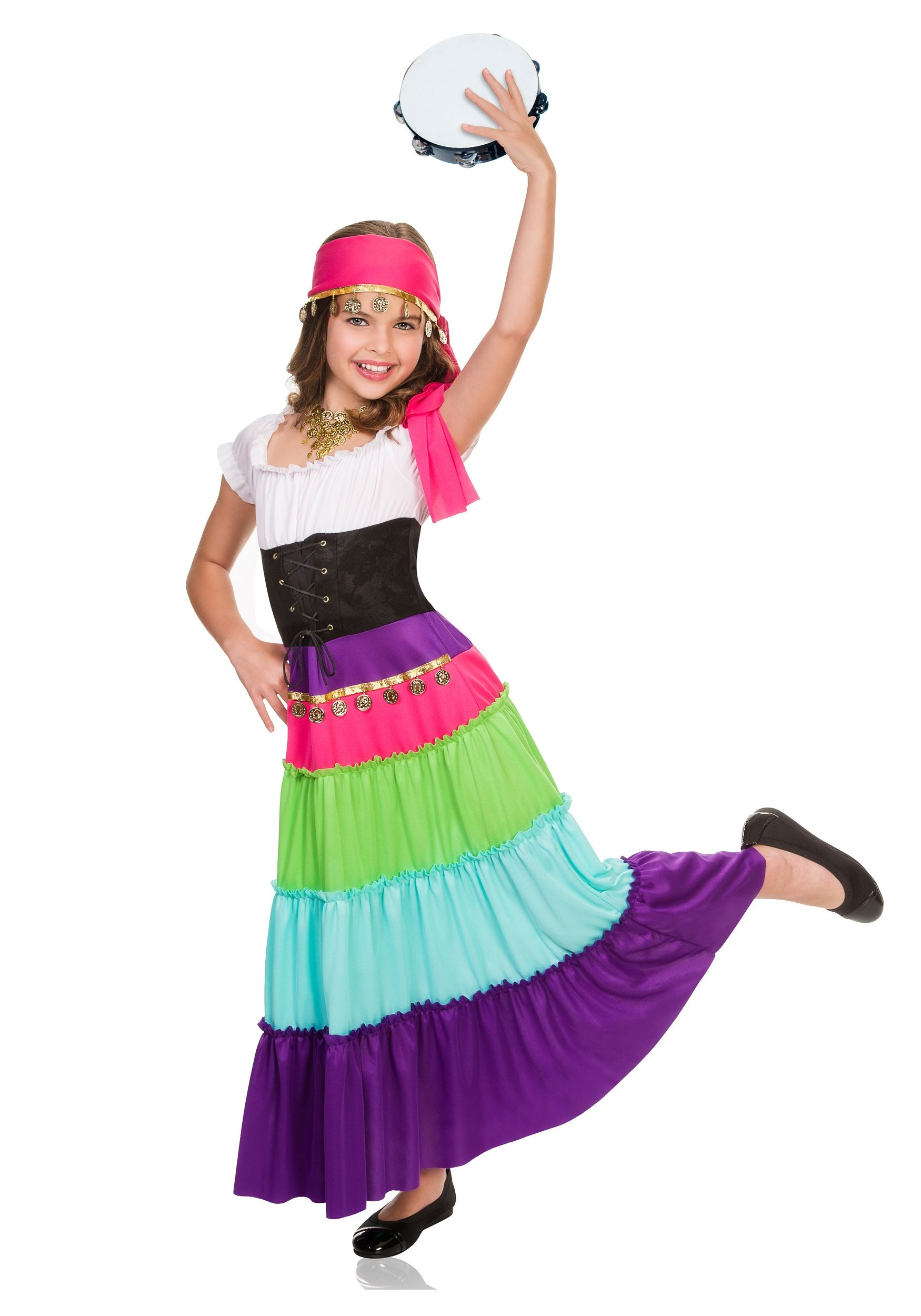 c4d6b3623 Child Renaissance Gypsy Costume | Carnival parties | Gypsy costume ...