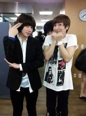 <3<3 Heechul and Leeteuk