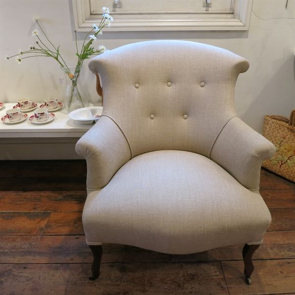 Pimpernel   Vintage French Tub Chair (1940s) Awesome Design