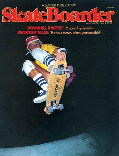 Skateboard Magazine poster,Jeremy Henderson /& Marc Sinclair//1979 Reproduction