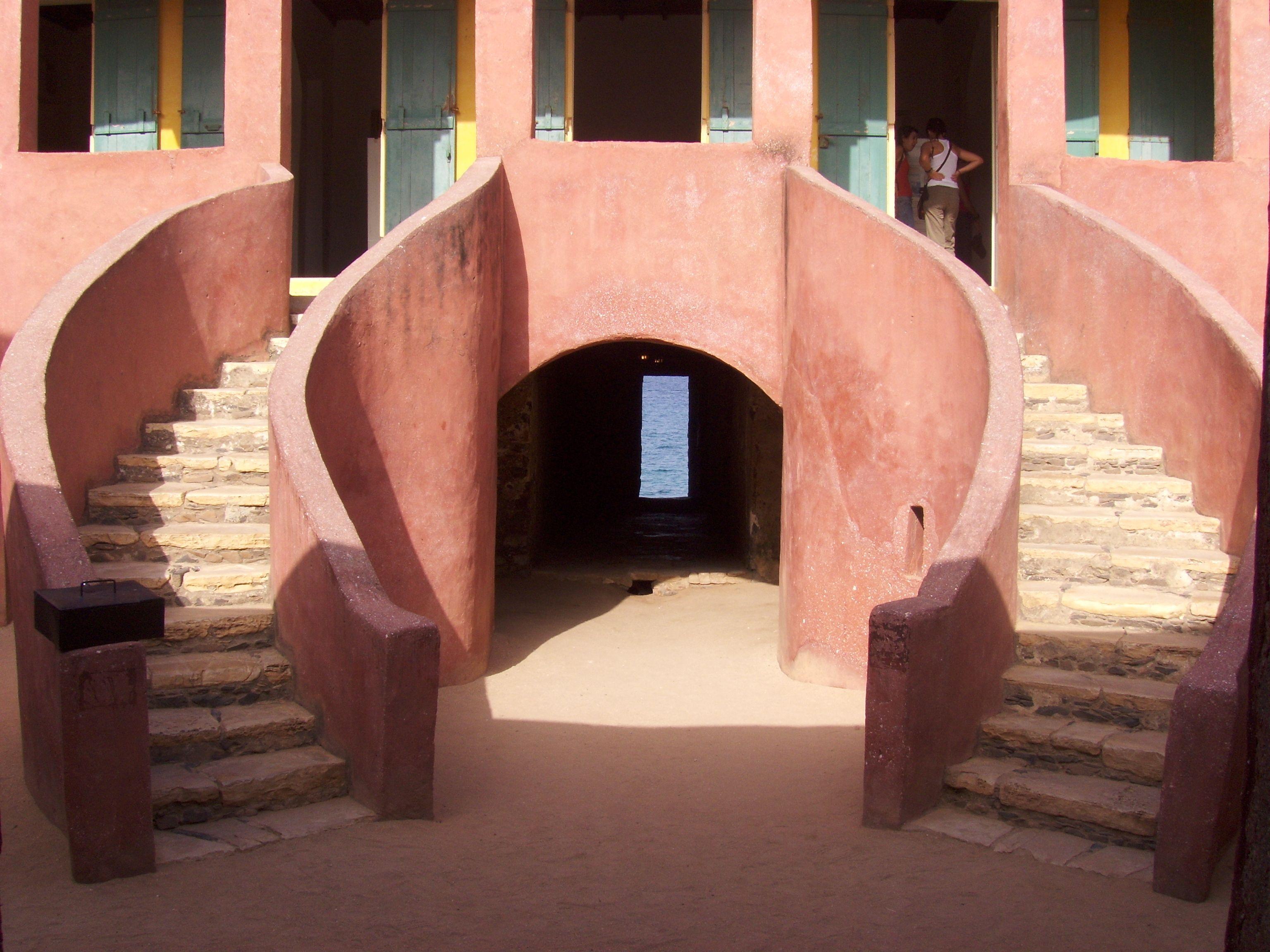 The door of no return. Goree Island, Senegal