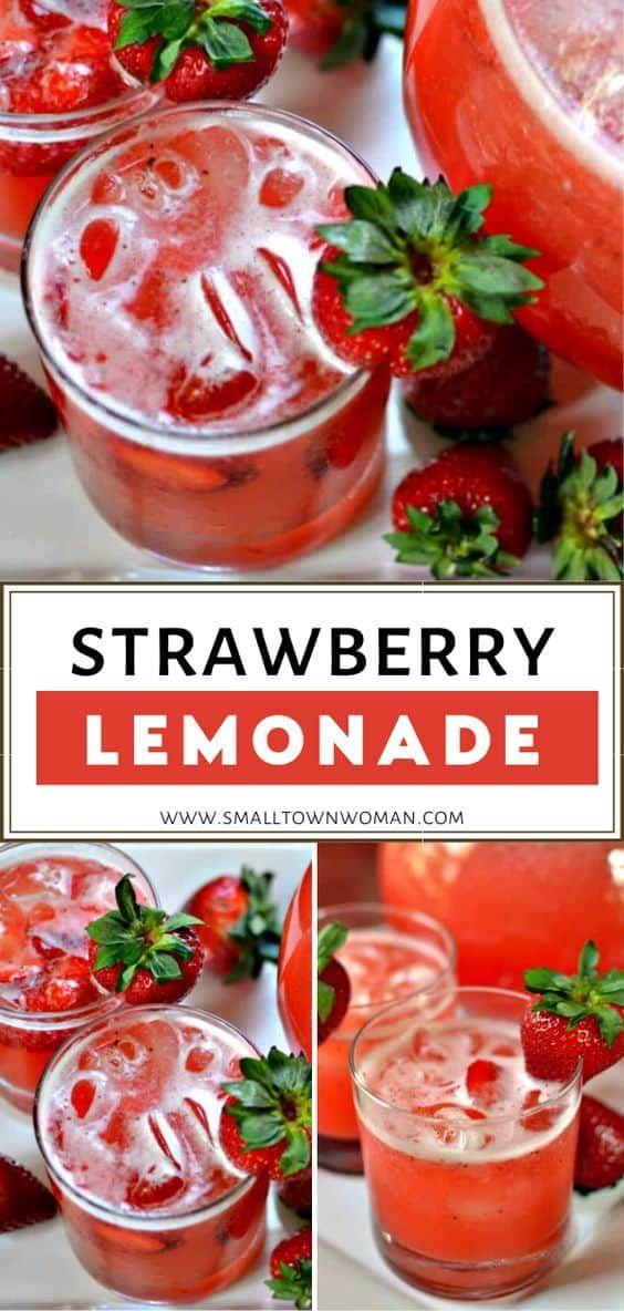 Fresh Strawberry Lemonade