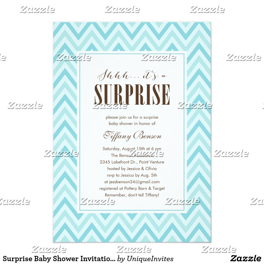 Surprise Baby Shower Invitations Surprise baby shower invitations ...