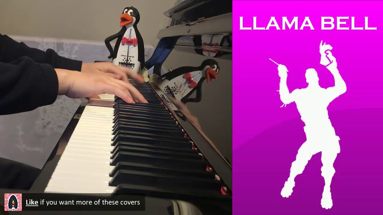 FORTNITE DANCE - Llama Bell (Piano Cover) | Piano Covers on