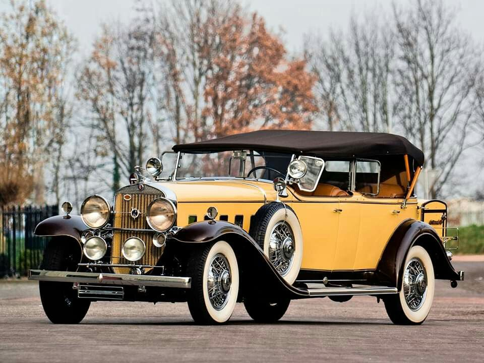 1931 Cadillac V-12 Series 370-A All-Weather Phaeton by Fleetwood