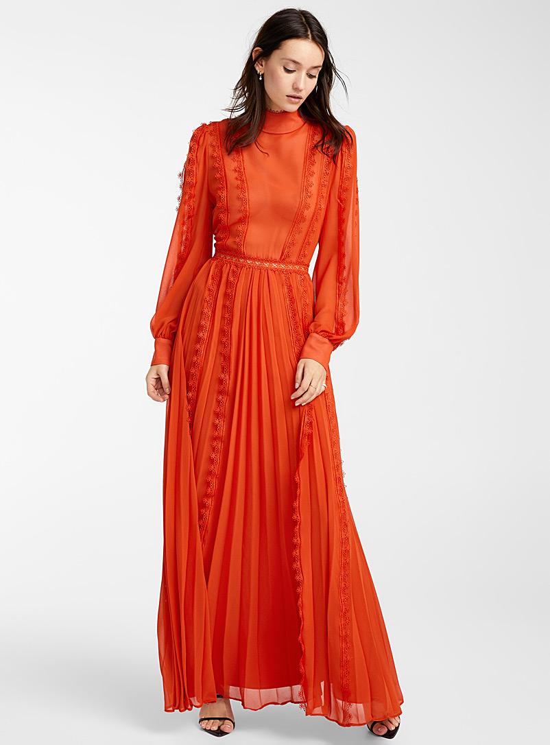 Rose Petal Shift Dress Fashion Orange Fashion Fashion Clothes Women [ 1500 x 1000 Pixel ]
