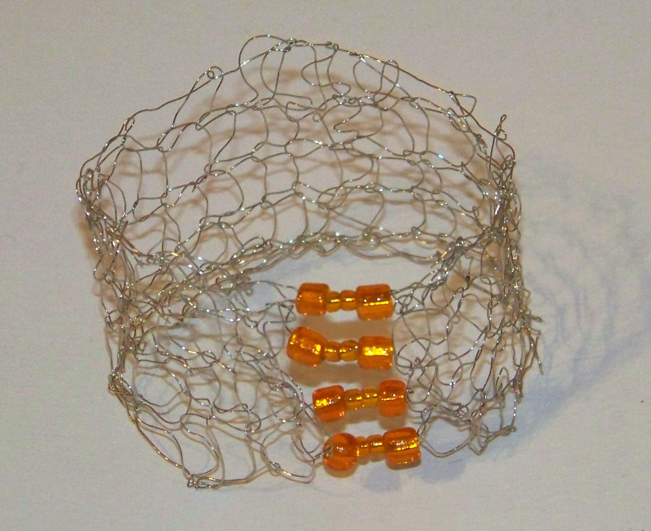 Knitting With Metal Wire : Knitting with wire on pinterest