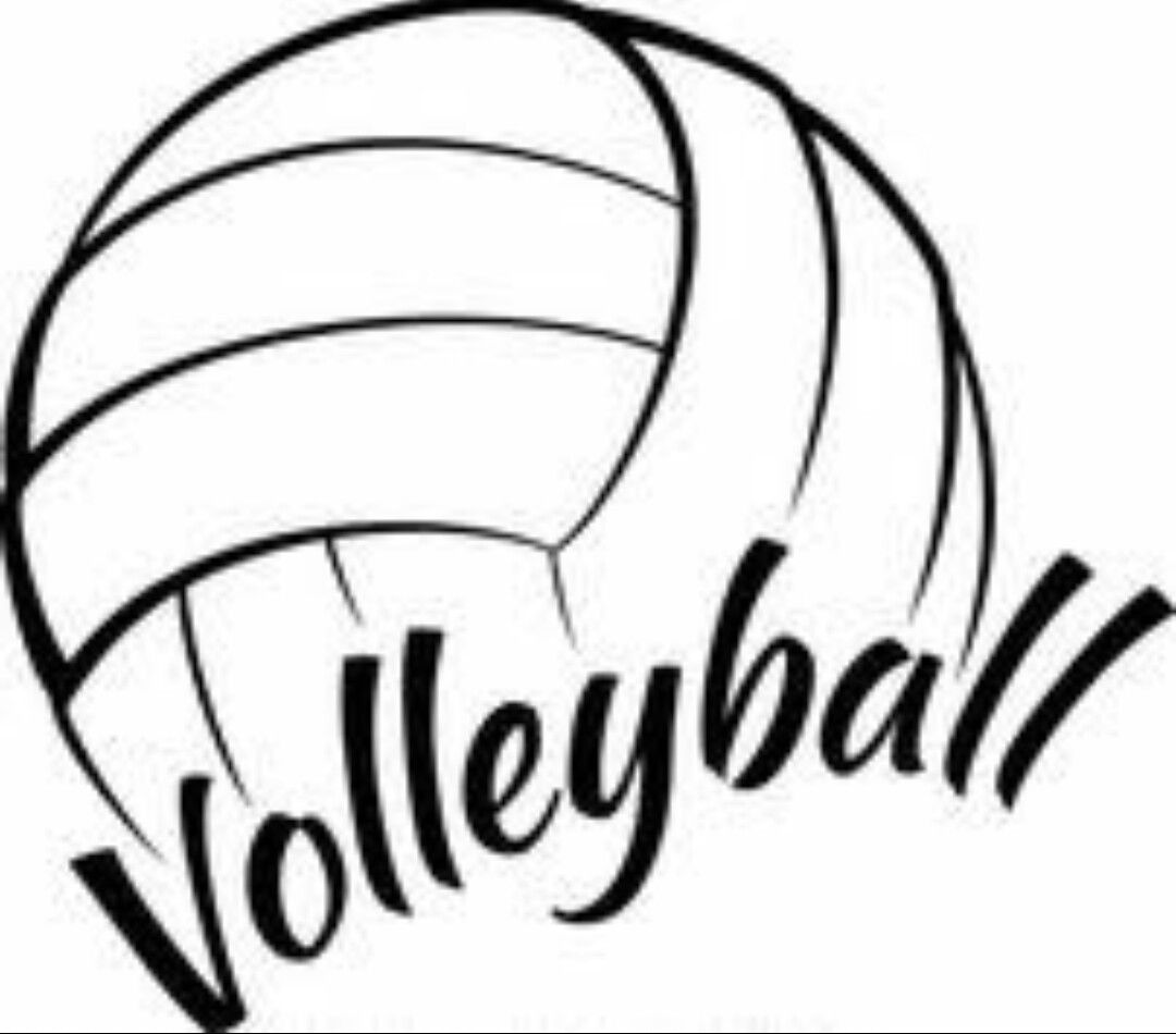 Pin By Elena Draga On Play With Your Whole Volleyball Clipart Volleyball Designs Volleyball