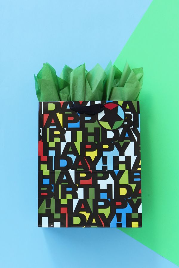 Birthday Gift Wrap Should Be Fun And Colorful This Bag From Hallmark Will Make