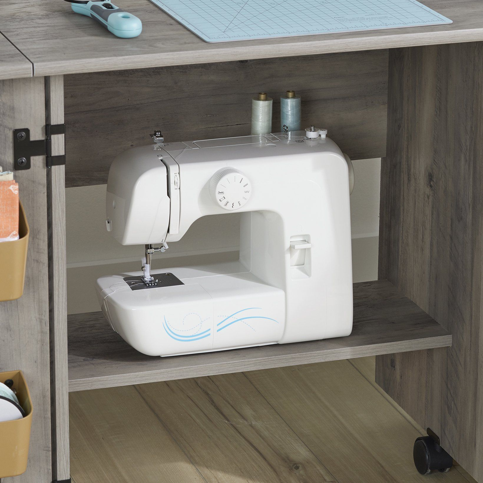 45+ Better homes gardens modern farmhouse wood sewing table ideas