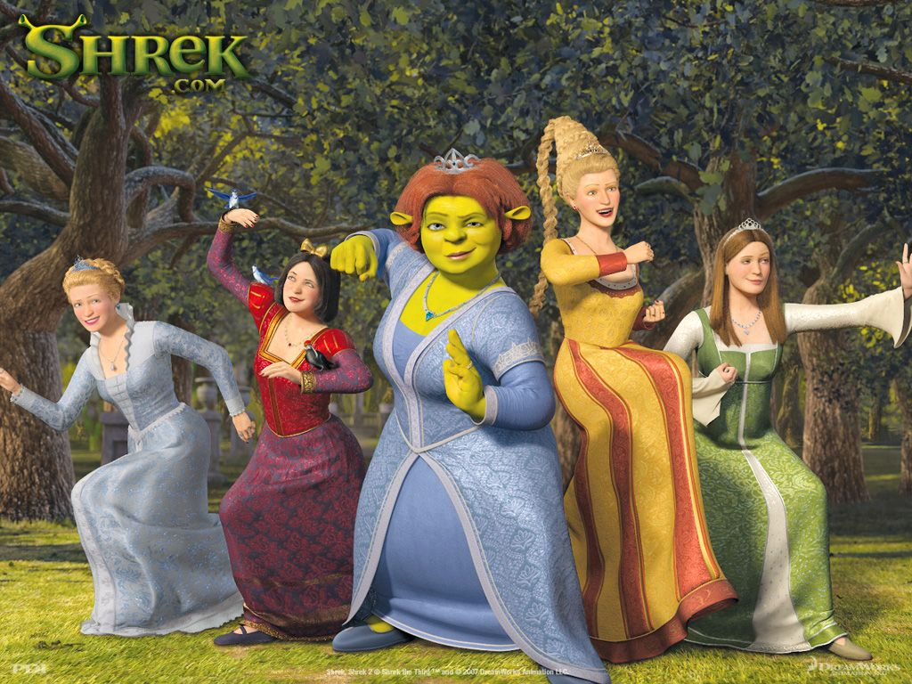 Princess Fiona Wallpaper Princess Fiona Shrek Shrek Character Princess Fiona